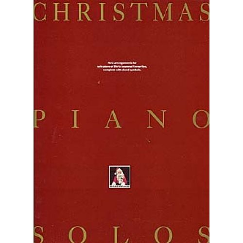 MUSIC SALES CHRISTMAS PIANO SOLO - PIANO SOLO AND GUITAR