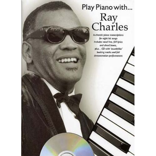 WISE PUBLICATIONS PLAY PIANO WITH... RAY CHARLES + CD