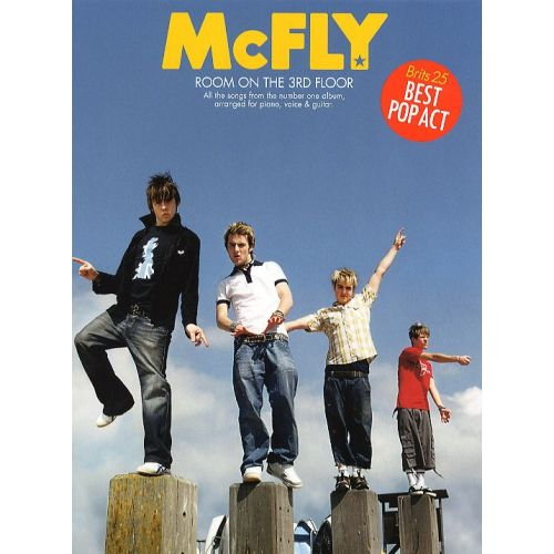 WISE PUBLICATIONS MCFLY - ROOM ON THE THIRD FLOOR,- PVG