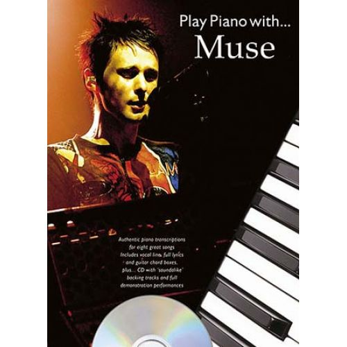 WISE PUBLICATIONS PLAY PIANO WITH... MUSE + CD