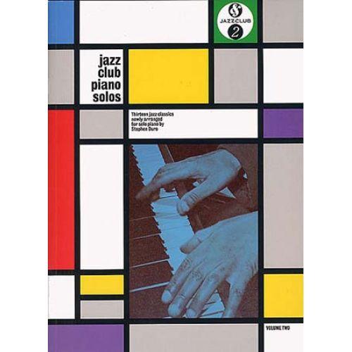 MUSIC SALES JAZZ CLUB - PIANO SOLO VOL.2