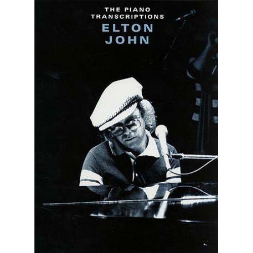 WISE PUBLICATIONS ELTON JOHN - THE PIANO TRANSCRIPTIONS