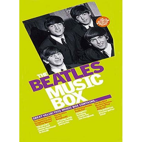 WISE PUBLICATIONS THE BEATLES MUSIC BOX - LYRICS AND CHORDS