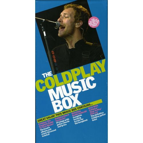 WISE PUBLICATIONS THE COLDPLAY MUSIC BOX - GUITAR