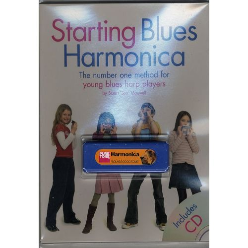 WISE PUBLICATIONS STARTING BLUES HARMONICA PACK - HARMONICA