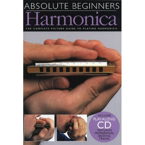 WISE PUBLICATIONS ABSOLUTE BEGINNERS HARMONICA - HARMONICA