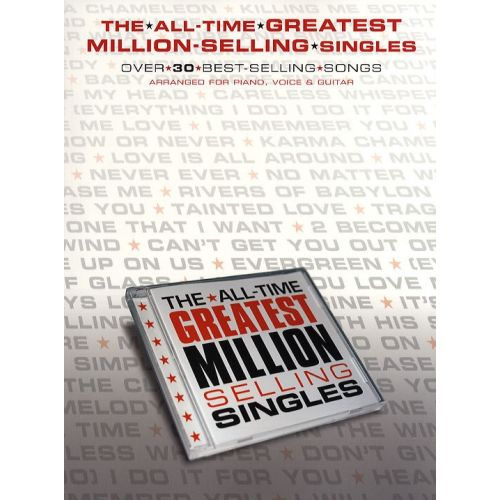 WISE PUBLICATIONS THE ALL TIME GREATEST MILLION SELLING SINGLES - PVG