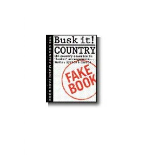 MUSIC SALES BUSK IT! - COUNTRY - MELODY LINE, LYRICS AND CHORDS