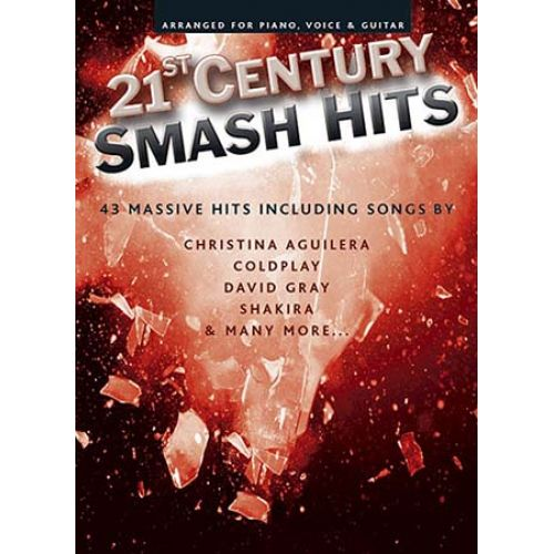 WISE PUBLICATIONS 21ST CENTURY SMASH HITS - THE RED- PVG