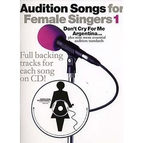 WISE PUBLICATIONS AUDITION SONGS FOR FEMALE SINGERS - 1 - PVG