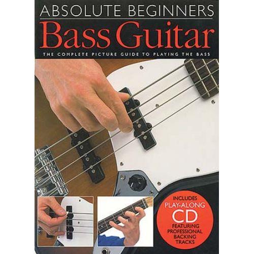 WISE PUBLICATIONS ABSOLUTE BEGINNERS BASS GUITAR - BASS GUITAR