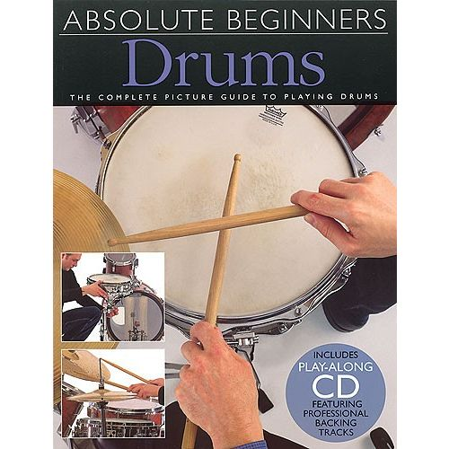 WISE PUBLICATIONS DAVID ZUBRASKI - DRUMS - ABSOLUTE BEGINNERS-MUSIC BOOK WITH CD - DRUMS