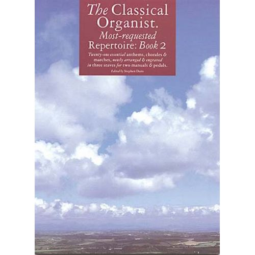 MUSIC SALES CLASSICAL ORGANIST REPERTOIRE BOOK 2 - ORGAN