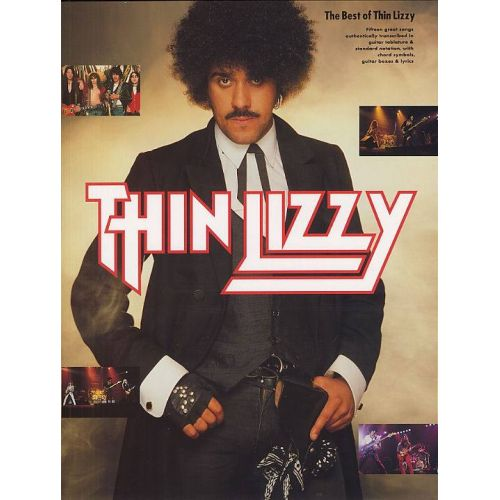 MUSIC SALES THIN LIZZY - BEST - GUITAR TAB