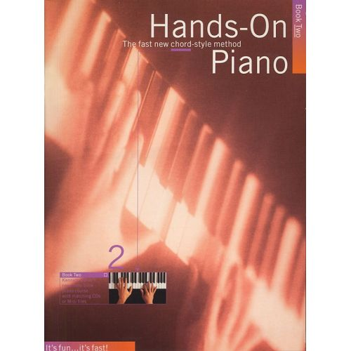 MUSIC SALES BAKER KENNETH - HANDS-ON PIANO - KENNETH BAKER...S NEW THREE-BOOK PIANO COURSE - PVG