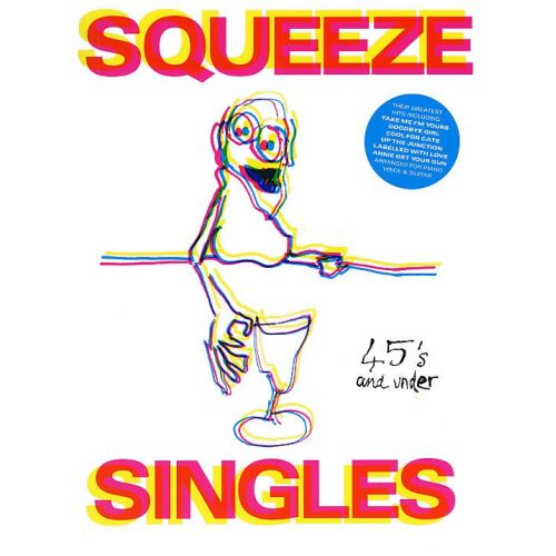 MUSIC SALES SQUEEZE - SQUEEZE SINGLES - PVG