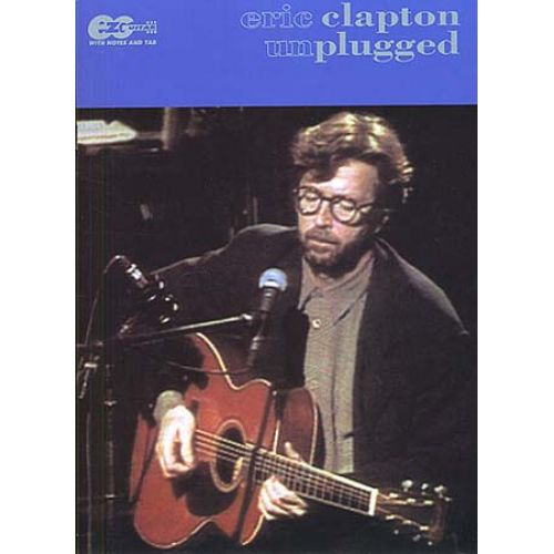 MUSIC SALES CLAPTON ERIC - UNPLUGGED - EASY GUITAR TAB