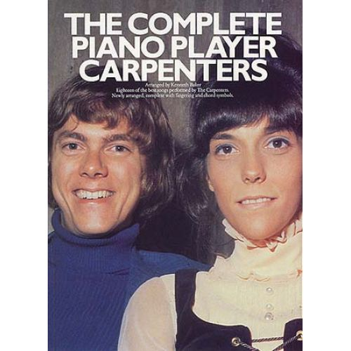 MUSIC SALES CARPENTERS THE - THE COMPLETE PIANO PLAYER - PVG