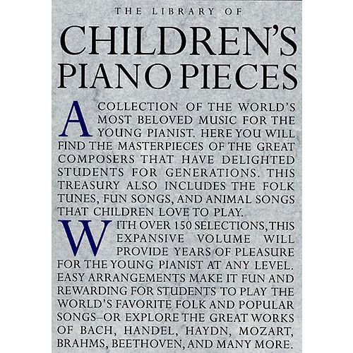 MUSIC SALES LIBRARY OF CHILDREN 'S PIANO PIECES