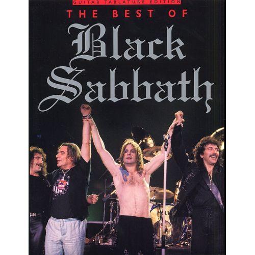 MUSIC SALES THE BEST OF BLACK SABBATH - GUITAR TAB