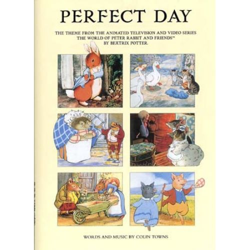 MUSIC SALES POTTER BEATRIX - PERFECT DAY - FORMAT
