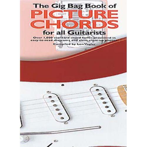 MUSIC SALES VOGLER LEONARD - GIG BAG BOOK OF PICTURE CHORDS GUITAR - GUITAR