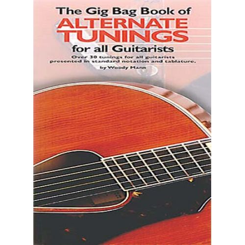 MUSIC SALES GIG BAG BOOK ALTERNATE TUNINGS - GUITAR TAB