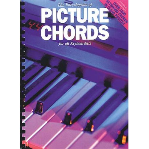 MUSIC SALES ENCYCLOPEDIA PICTURE CHORDS KEYBOARDISTS