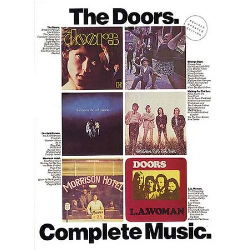 MUSIC SALES DOORS - COMPLETE MUSIC - PVG