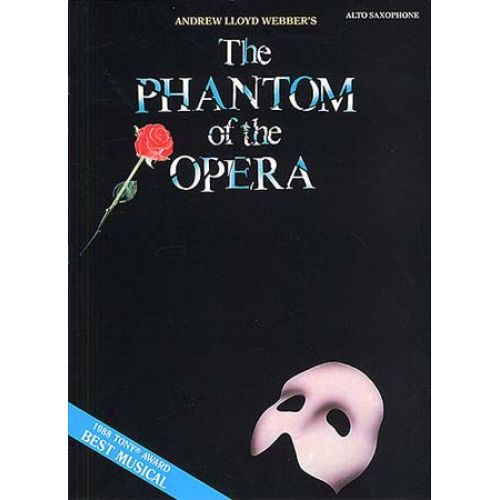 MUSIC SALES LLOYD WEBBER ANDREW PHANTOM OF THE OPERA INSTRUMENTAL SOLO ASAX - ALTO SAXOPHONE