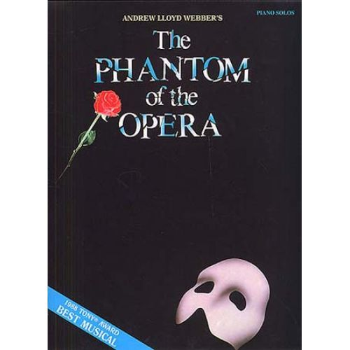 MUSIC SALES THE PHANTOM OF THE OPERA PIANO SOLOS - PIANO SOLO