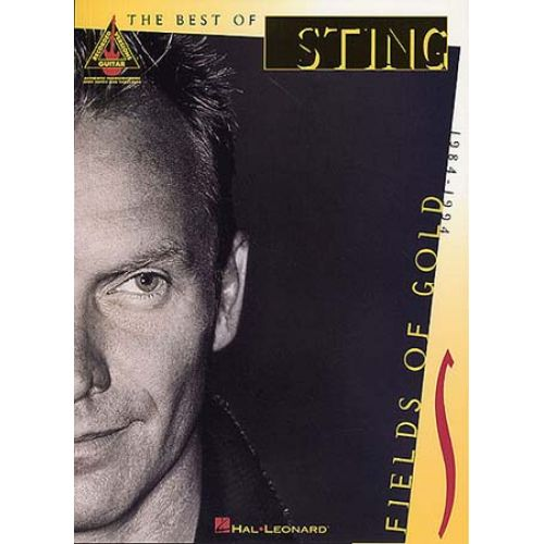 MUSIC SALES STING - FIELDS OF GOLD BEST OF - GUITAR TAB