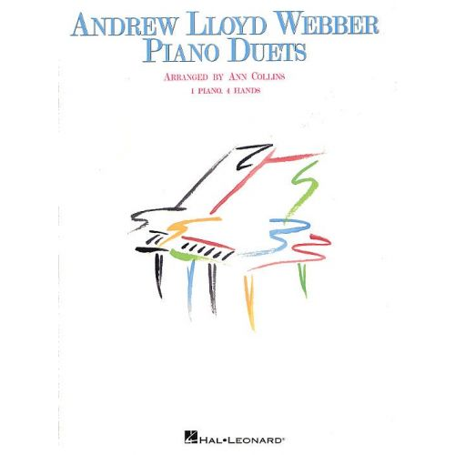 MUSIC SALES LLOYD WEBBER ANDREW - PIANO DUETS