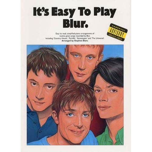 MUSIC SALES BLUR - IT 'S EASY TO PLAY- PIANO