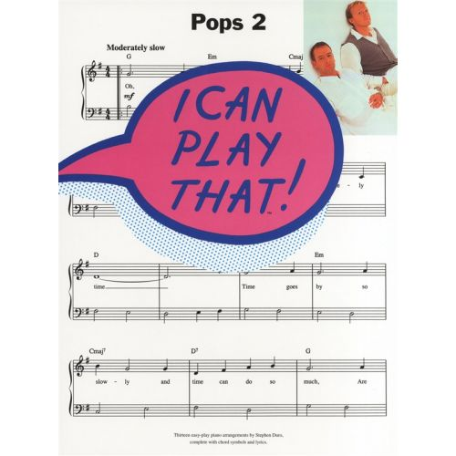 MUSIC SALES I CAN PLAY THAT! POPS 2 - LYRICS AND CHORDS