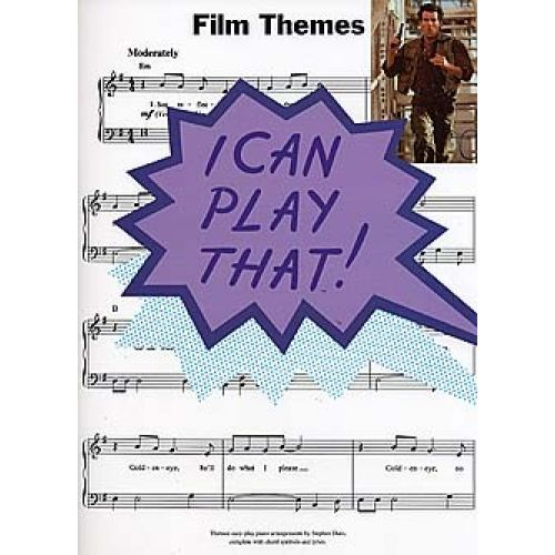 WISE PUBLICATIONS I CAN PLAY THAT! FILM THEMES - LYRICS AND CHORDS