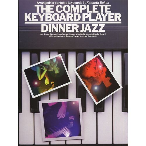MUSIC SALES THE COMPLETE KEYBOARD DINNER JAZZ - KEYBOARD