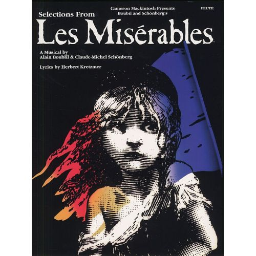 MUSIC SALES SELECTIONS FROM LES MISERABLES - INSTRUMENTAL SOLOS FOR FLUTE - FLUTE