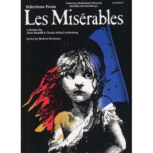 MUSIC SALES SELECTIONS FROM LES MISERABLES - CLARINET