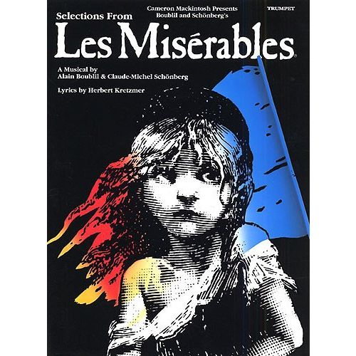 MUSIC SALES SELECTIONS FROM LES MISERABLES - TRUMPET