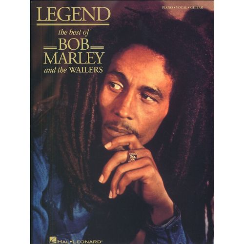 MUSIC SALES LEGEND - THE BEST OF BOB MARLEY AND THE WAILERS - PVG
