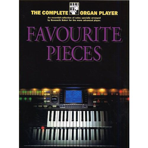 MUSIC SALES K/ BAKER - FAVOURITE PIECES - ORGAN