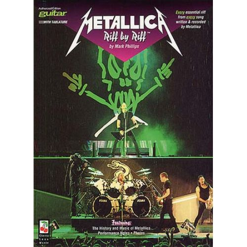 MUSIC SALES METALLICA GUITAR RIFF BY RIFF - GUITAR TAB