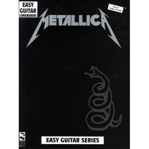 MUSIC SALES METALLICA - EASY GUITAR AND VOCAL - GUITAR TAB