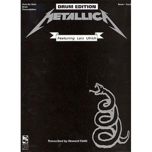 HAL LEONARD HETFIELD ULR - METALLICA - DRUM EDITION - INCLUDES DRUM SETUP DIAGRAMS - DRUMS