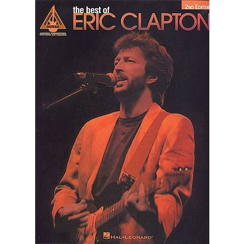 HAL LEONARD CLAPTON ERIC - BEST OF - GUITAR TAB