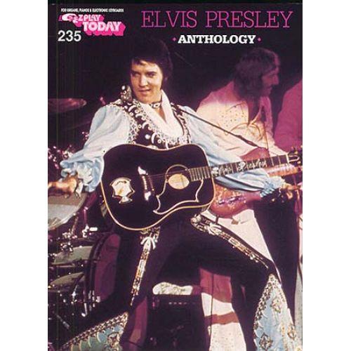 MUSIC SALES ELVIS PRESLEY ANTHOLOGY - MELODY LINE, LYRICS AND CHORDS