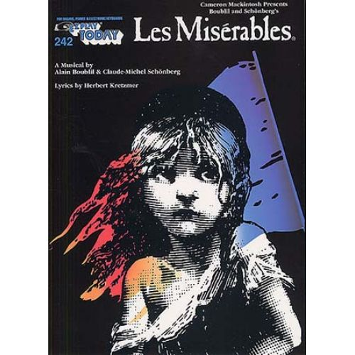 MUSIC SALES SCHONBERG KR - LES MISERABLES - MELODY LINE, LYRICS AND CHORDS