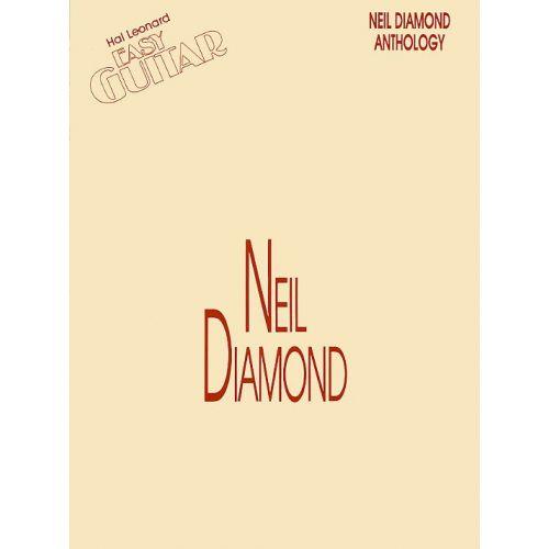 MUSIC SALES CARL - NEIL DIAMOND ANTHOLOGY - MELODY LINE, LYRICS AND CHORDS