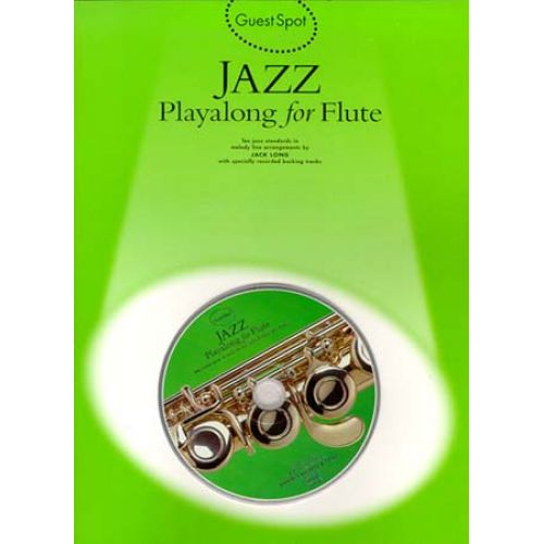 MUSIC SALES GUEST SPOT - JAZZ + CD - FLUTE